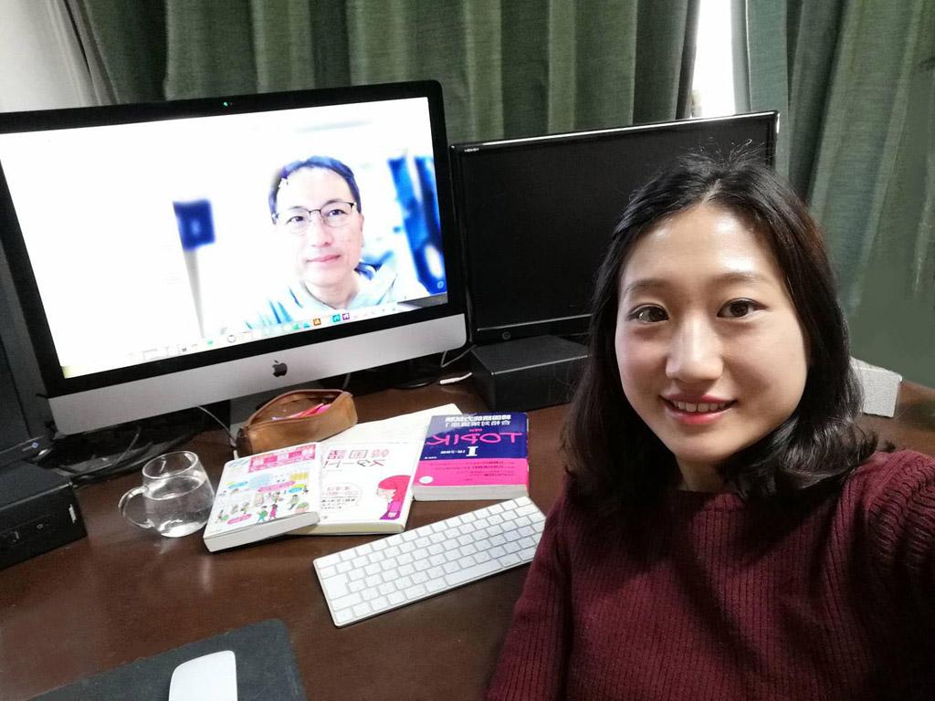 長年一緒に韓国語を勉強してきたMさん